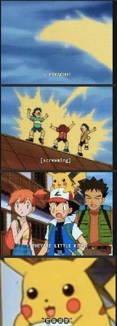 Pikachu Doesn't Care