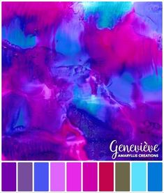 Colour Palettes | Amaryllis Creations by Genevieve Crabe Colour Palettes, Teacher, Digital, Artwork, Color, Color Palettes, Professor, Work Of Art, Colour
