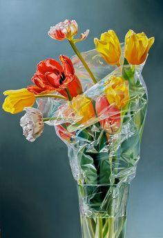 Tulpen in Plastic IV - Tjalf Sparnaay
