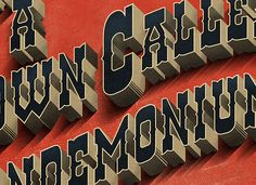 A Town Called Pandemonium / 1853 - Velcro Suit - The Graphic Design and Illustration of Adam Hill
