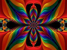 Margy's Musings: Beautiful Fractals
