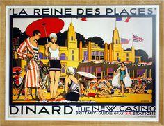 Dinard à l'affiche - exposition villa Roches Brunes -