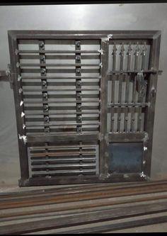 Grill Gate Design, Iron Gate Design, Iron Fence Gate, Engineering Works, Balcony Railing Design, Kerala Houses, Kerala House Design, Main Gate, Doors