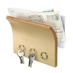 Magnetyczna półka na klucze i listy - Umbra