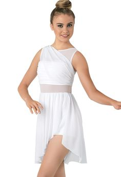 Mesh Wrap Dress | Balera™
