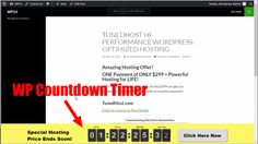 Free WordPress Plugin: Countdown Timer For Website Let's face it, building a big…