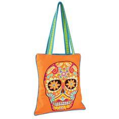 Embry Sugar Skull Bag Orange
