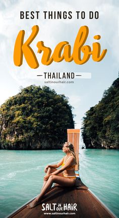 Things To Do In Krabi Krabi is a region of Thailand. The main towns to spend your time are Ao Nang and Krabi Town, though Ao Nang is the most popular. Railay Beach Krabi, Khao Lak Beach, Thailand Travel Tips, Asia Travel, Croatia Travel, Bangkok Thailand, Hawaii Travel, Italy Travel, Scuba Diving Thailand