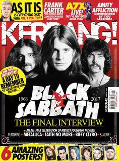 KERRANG! Magazine - Black Sabbath