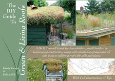 An e-book that really delivers the critical details for those of us who want to put a small green roof on a shed or garage or any other backyard structure. The DIY Guide To Green & Living Roofs delivers the goods. Roofing Options, Roofing Systems, Roofing Materials, Roof Plants, Green Roof Benefits, Green Facade, Green Roofs, Residential Roofing, Living Roofs