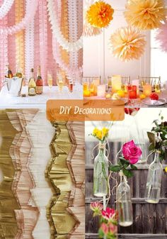 Party Inspiration: DIY Decorations