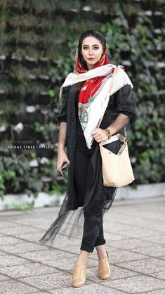 "Iranian girl in Iran. ""Best Iranian fashion"" is published by aroosiman. Summer Fashion Outfits, Women's Fashion Dresses, Hijab Fashion, Girl Fashion, Womens Fashion, Muslim Fashion, Female Fashion, Iranian Women Fashion, Fashion Tips For Women"