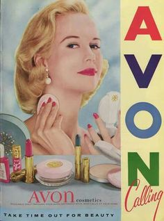 1957 Avon ad  Shop Avon @ https://drosloniec.avonrepresentative.com