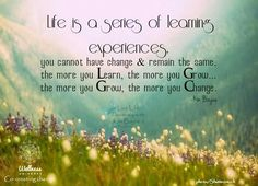Learning Experiences.