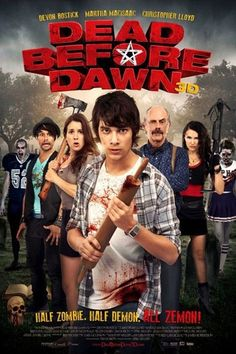 'Dead Before Dawn' is a Canadian comedy-horror that was released in 2012 and was directed April Mullen, and written by Tim Doiron. Find out more: http://thezombiesite.com/dead-before-dawn-2012/