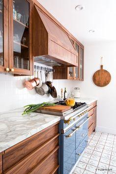 walnut cabinets | Kitchen Countertop Surfaces 101 — STUDIO MCGEE