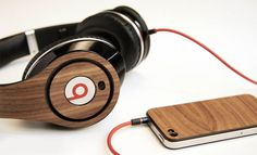 "Lazerwood, the company who makes the custom iPhone cases, has released their Beats skins (or ""mods"" as they call them). For 35 bucks, your headphones will stand out thanks to the real wood adhesives."