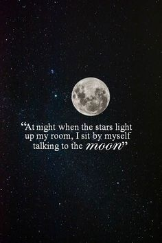 Talking To The Moon Bruno Mars Quotes by @quotesgram