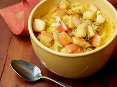 Roasted Acorn Squash and Garlic Mash recipe from Marcela Valladolid via Food Network