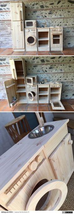 les 11 meilleures images de cuisine en bois jouet cuisine en bois enfant cuisinette enfant et