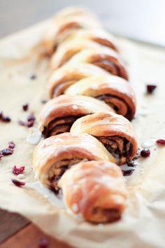 Pull apart bread : vanille vergeoise et cranberries - #DéfiBoulange première !