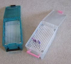 Copic Marker storage for 186 markers per box.