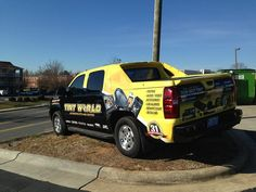 Tint World Custom Vehicle Wraps    http://www.tintworld.com/services/automotive-services/vehicle-wraps-graphics/vehicle-wraps/    Whether it's to promote you business or create a custom look for your vehicle, Tint World's custom car wraps and graphics have you covered.