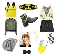 Living keen style rocks by debodoherty06 on Polyvore featuring polyvore, fashion, style, Boohoo, Keen Footwear, Orla Kiely, ASOS, Converse, Kate Spade, Nails Inc. and clothing