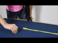 How to make your own fitting harem pants and top - YouTube