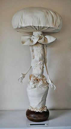 Toadstool spirit (work in progress) by Mister Finch