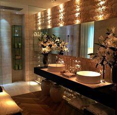 Elegant Bathroom Designs Pictures Luxury Bathrooms For Sale Modern Bathroom Sink, Hall Bathroom, Bathroom Ideas, Bathroom Mirrors, Bathroom Cabinets, Ikea Bathroom, Bathroom Small, Industrial Bathroom, Bathroom Pictures