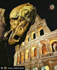"""""""Scultura del Cavallo di Gustavo Aceves al Colosseo"""" - Roma  #photobydperry  #Repost @loves_united_lazio with @repostapp  Presents PHOTOGRAPHER   @david_r_perry  L O V E S O F T H E D A Y November 14 2016 LOCATION   #roma PROFILE ADMIN   @wolmersala  OUR TAG   #LOVES_UNITED_LAZIO  THANK FOR FOLLOWS US   @LOVES_UNITED_LAZIO @LOVES_UNITED_LIFE  PARTNER GROUP   @Loves_United_Family @Loves_United_Basilicata @Loves_United_Roma @Loves_United_Italia_ #l_u_t_c_i_2016_11_ 14 OUR MAIL…"""