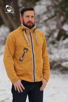 Winterjacke für Männer - Schnittmuster und Nähanleitung via Makerist.de