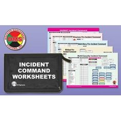 The DMS Multi-Hazard ICS worksheet portfolio is an organizational tool designed for the first responder.