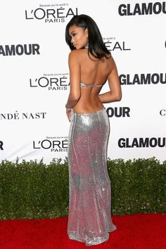 Chanel Iman Photos Photos - Model Chanel Iman attends Glamour Women Of The Year 2016 at NeueHouse Hollywood on November 14, 2016 in Los Angeles, California. - Glamour Women of the Year 2016 - Arrivals