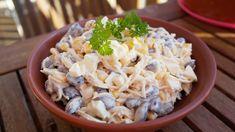 Swojskie jedzonko: Szybka i pyszna sałatka z czerwoną fasolą