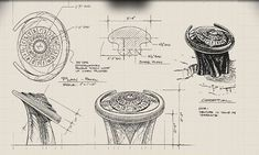 Stargate DHD (Dial Home Device) schematics
