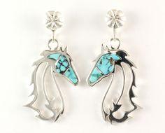 Horses In The Wind Earrings