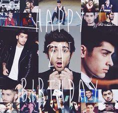 Happy Birthday Zayn @Sabbir Osmani Hafeji Malik :)
