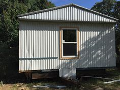 Replacing Windows and Doors for Mobile Home Renovation. Mobile Home Exteriors, Mobile Home Renovations, Remodeling Mobile Homes, Home Upgrades, Home Remodeling, Bathroom Remodeling, Mobile Home Redo, Mobile Home Repair, Mobile Home Decorating