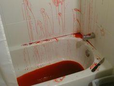 bllod in bath - Recherche Google