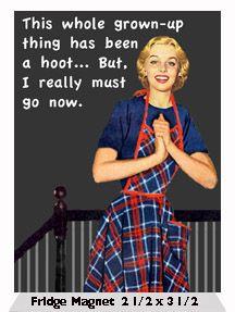 A hoot!!! #humor #grownup #adulthood