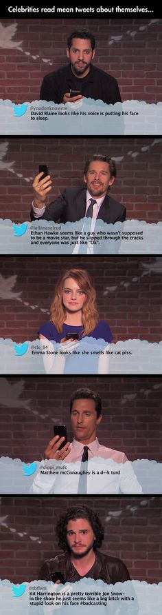 Mean Tweets About Celebrities