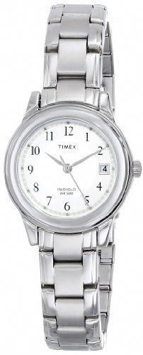 fd67031a82fc Timex Women s Elevated Classics Dress Sport Chic Silver-Tone Bracelet Watch  Classically styled and updated with the latest Timex timekeeping technology