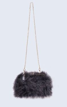 Feather Bag Clouded Grey - SilkFred