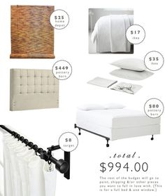 designing on a budget : bedroom | LindyJacoby.com