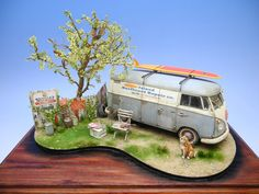 Doozy ModelWorks VW Bus. So detailed and so realistic!