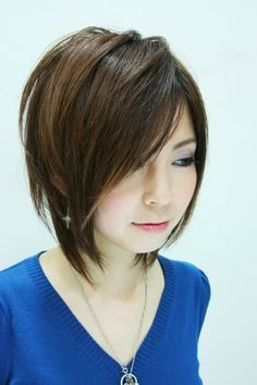 THIS WILL BE MY NEXT HAIRCUT/STYLE. ♥♥♥Textured short Bob hairstyle