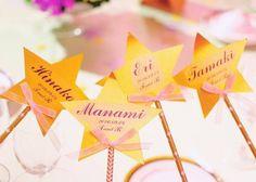 結婚式の手作り席札のアイデア集