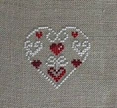 Thrilling Designing Your Own Cross Stitch Embroidery Patterns Ideas. Exhilarating Designing Your Own Cross Stitch Embroidery Patterns Ideas. Xmas Cross Stitch, Cross Stitch Heart, Cross Stitch Alphabet, Cross Stitching, Learn Embroidery, Cross Stitch Embroidery, Embroidery Patterns, Hand Embroidery, Cross Stitch Designs